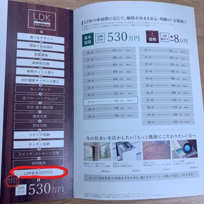 LDK定額制リフォームパック|吉祥寺・武蔵野市でリフォームするならONOYA東京 吉祥寺ショールーム