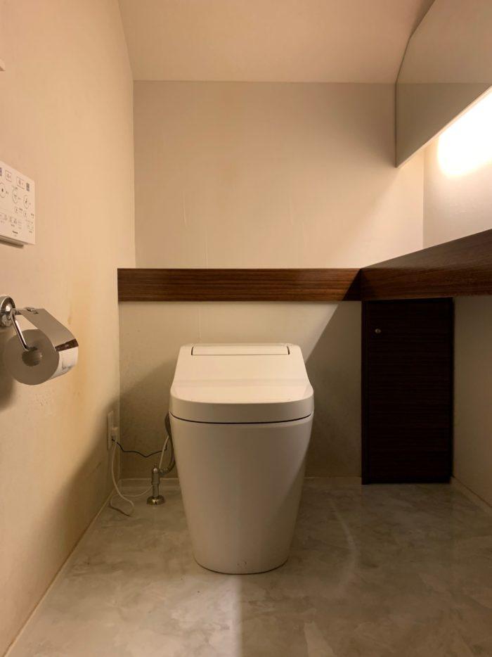 高級感漂うトイレ|吉祥寺・武蔵野市でリフォームするならONOYA東京 吉祥寺ショールーム