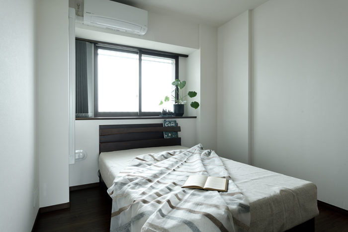快適な睡眠がとれる心地良い寝室